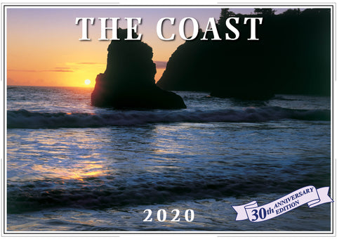 2020 The Coast Wall Calendar
