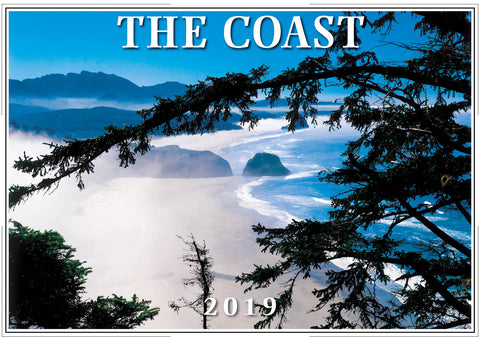 2019 The Coast Wall Calendar
