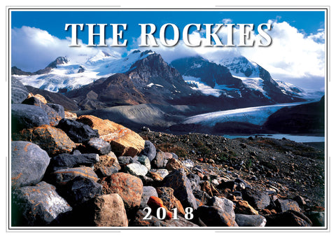 2018 The Rockies Wall Calendar