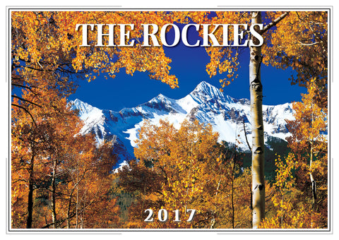 2017 The Rockies Wall Calendar