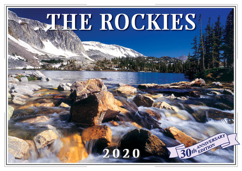 2020 The Rockies Wall Calendar