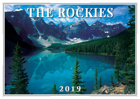 2019 The Rockies Wall Calendar