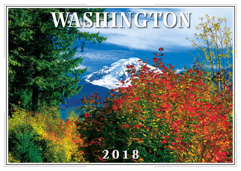 2018 Washington Wall Calendar