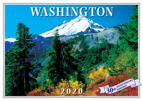 2020 Washington Wall Calendar