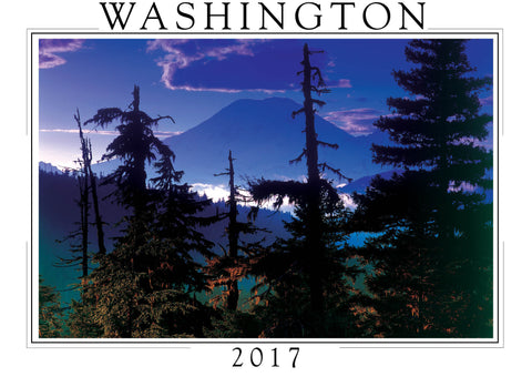 2017 Washington Wall Calendar
