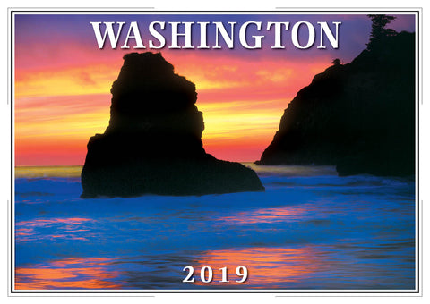 2019 Washington Wall Calendar