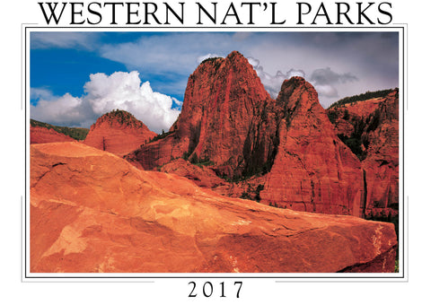 2017 Western National Parks Wall Calendar