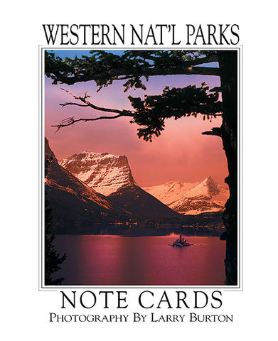 Western Nat'l Parks Glacier Note Card Set