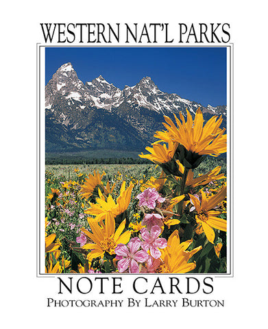Western Nat'l Parks Grand Teton Note Card Set