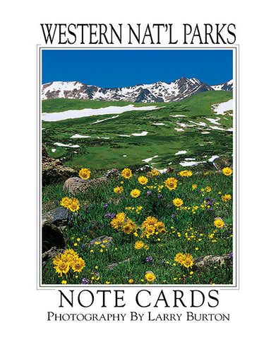 Western Nat'l Parks Rocky Mountain Note Card Set
