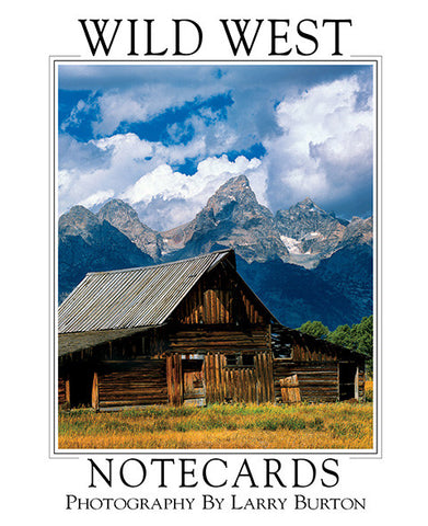 Wild West Note Card Set