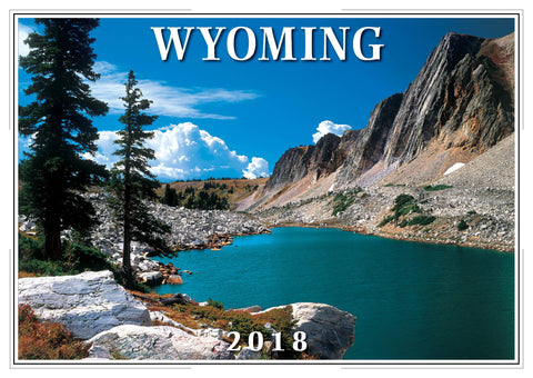 2018 Wyoming Wall Calendar