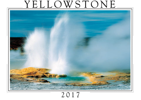 2017 Yellowstone Wall Calendar
