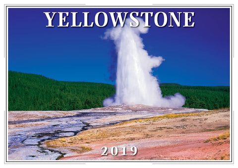 2019 Yellowstone Wall Calendar