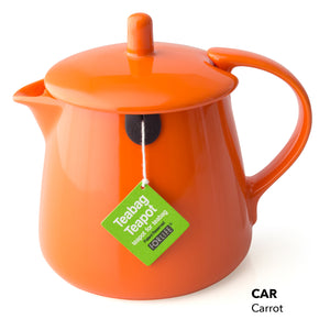 Teabag Teapot - Carrot color only
