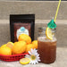 TeaLula Arnold Palmer iced tea glass lemons tea package