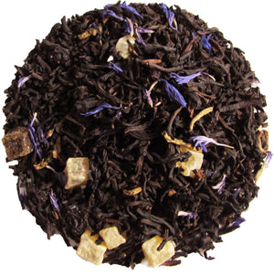 Decaf Myrtille Beach Flavored Black Tea