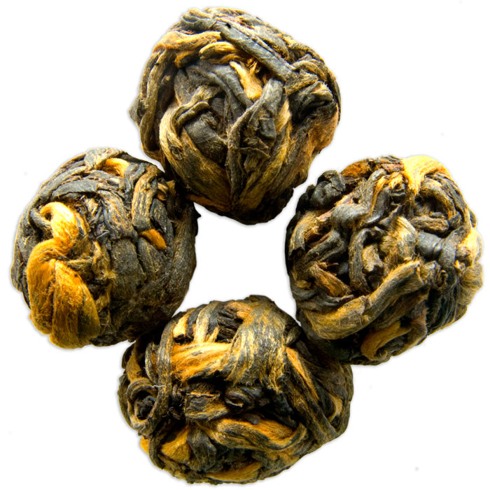 Black Dragon Pearls Chinese Black Tea