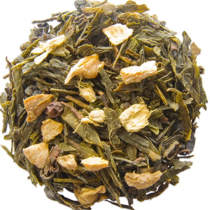 Ginger Sencha Flavored Green Tea