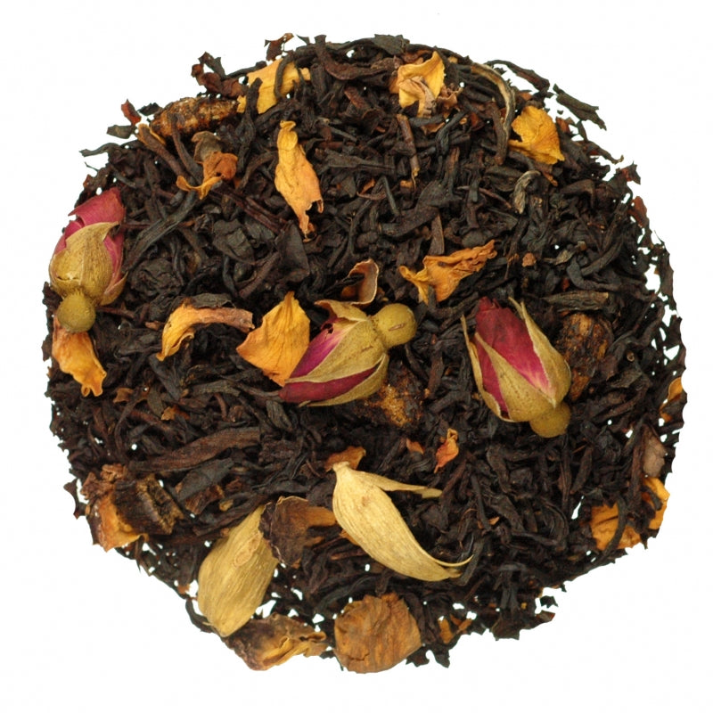 Rose Marzipan Flavored Black Tea