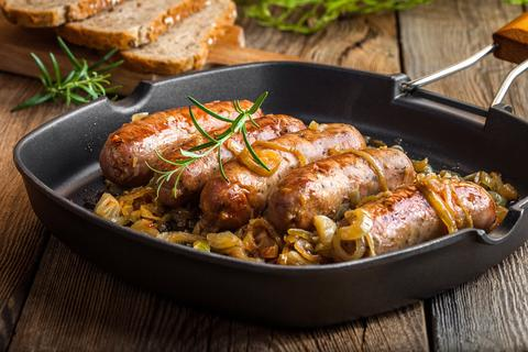 Naturally Raised Bratwurst Sausages