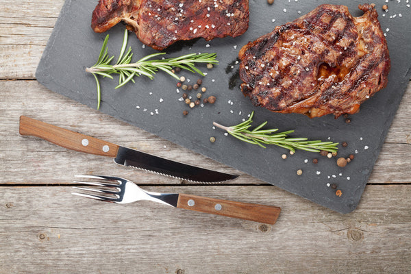 Naturally Raised Rib Eye Steaks - Organic Freezer