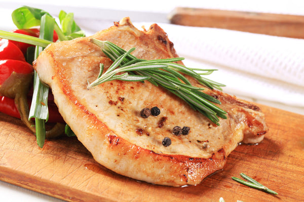 Naturally Raised Pork Loin Chops (Bone-in) - Organic Freezer