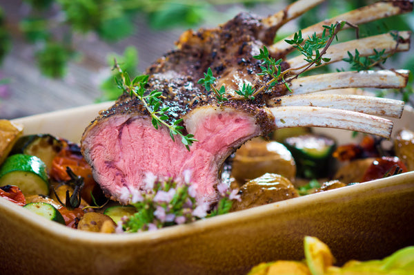 Organically Fed Rack Of Lamb - Organic Freezer