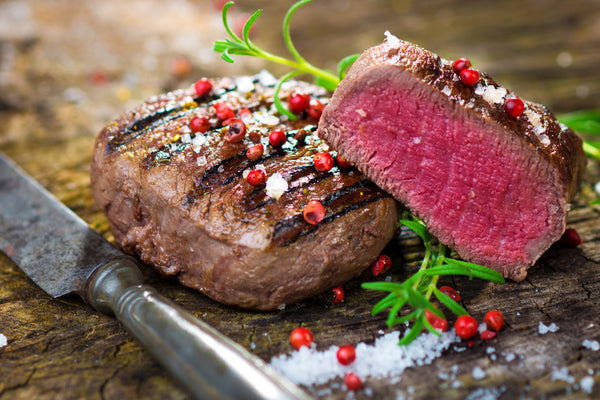 Naturally Raised Beef Tenderloin Steaks - Organic Freezer