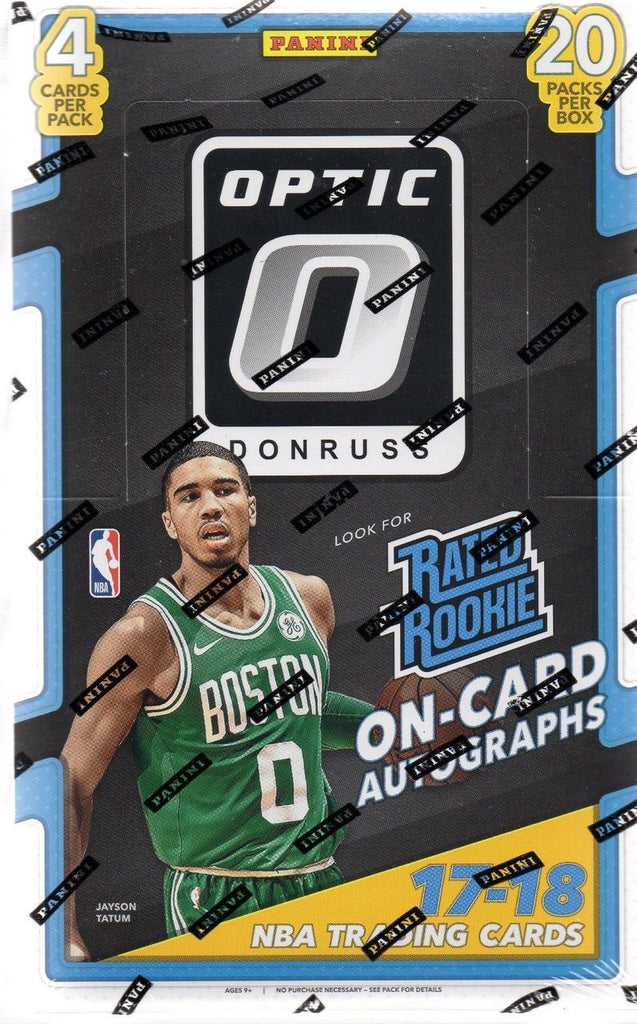 2017/18 Panini Donruss Optic Basketball Hobby Box