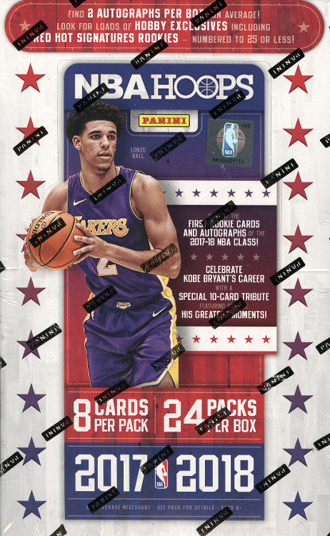 2017/18 Panini Hoops Basketball Hobby Box