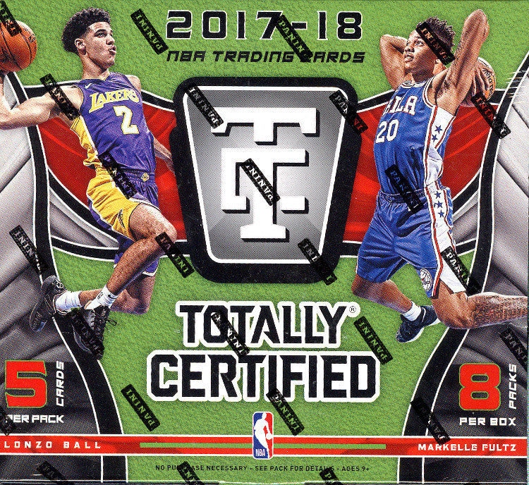 2017/18 Totally Certified Basketball Hobby Box