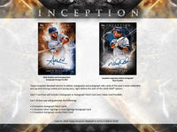 2018 Topps Inception Baseball Hobby Box March 21st