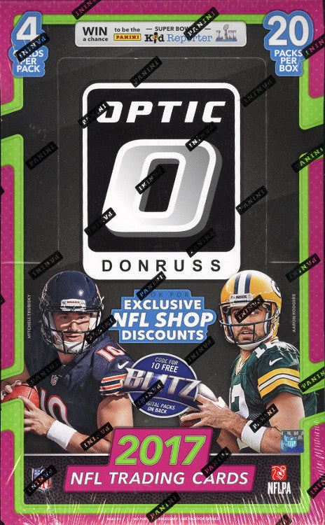 2017 Panini Donruss Optic Football Hobby Box Miller S Sports World