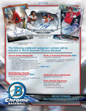 2018 Bowman Chrome Baseball Hobby Box September 5th