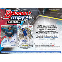2018 Bowman's Best Baseball Hobby Box December 19th