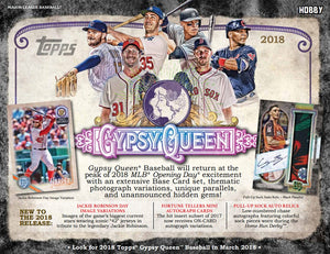 2018 Topps Gypsy Queen Baseball Hobby Box March 21st