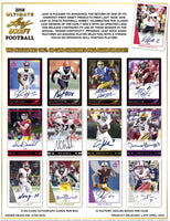 2018 Leaf Ultimate Draft Football Hobby Box April 27th