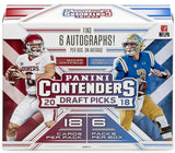 2018 Panini Contenders Draft Picks Football Hobby Box