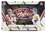 2018 Panini Certified Football Hobby Box