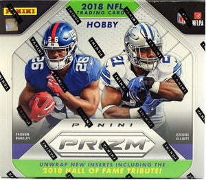 2018 Panini Prizm Football Hobby Box