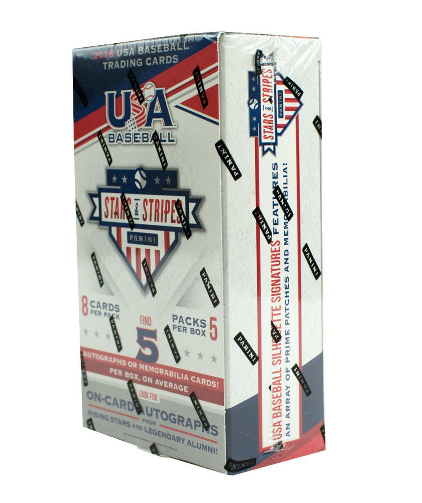 2018 Panini USA Stars & Stripes Baseball Hobby Box