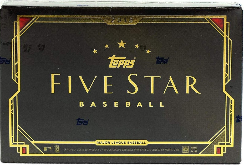 2018 Topps Five Star Baseball Hobby Box