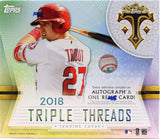 2018 Topps Triple Threads Baseball Hobby Box