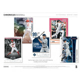 2018 Panini Chronicles Baseball Hobby Box August 24th