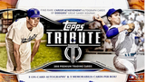 2018 Topps Tribute Baseball Hobby Box