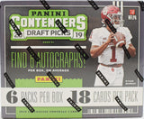 2019 Panini Contenders Draft Football Hobby Box