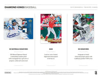 2019 Panini Diamond Kings Baseball Hobby Box April 10th