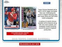 2019 Topps Chrome Baseball PYT Hobby Case Break (12 Boxes)
