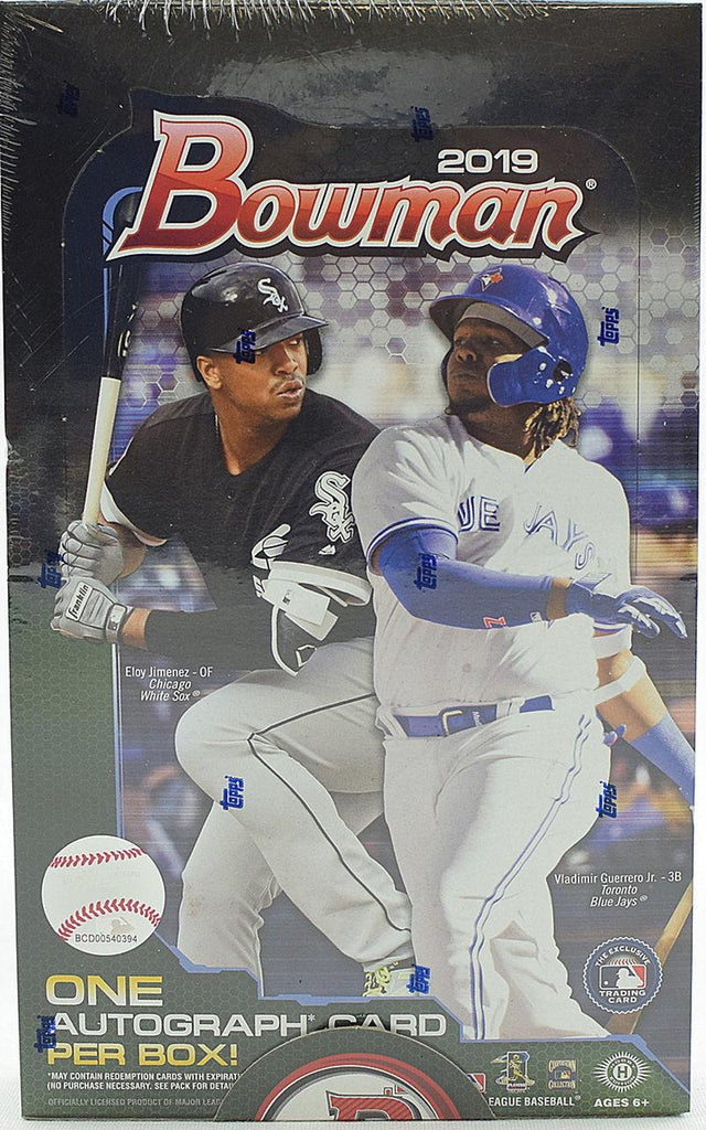 2019 Bowman Baseball Hobby Box
